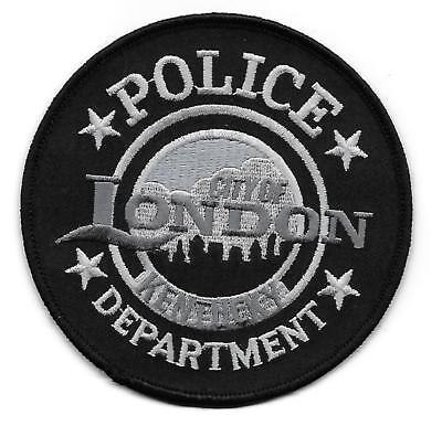 ecusson POLICE USA LONDON us police patch