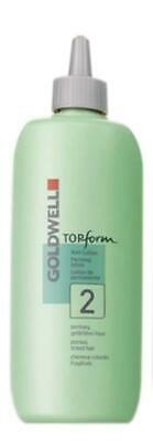 GOLDWELL TOPform Prerming lotion for porous, tined hair #2 500ml