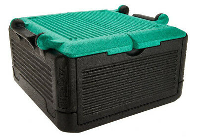 FLIP BOX LG(GREEN) 26 QT/45 cans HOT/COLD Insulation Box Collapsible ON SALE!!!