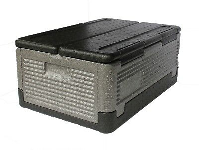 FLIP BOX XL Insulation Transport Box - 41 Qt/ 60 Cans Foldable Hot/Cold on SALE!