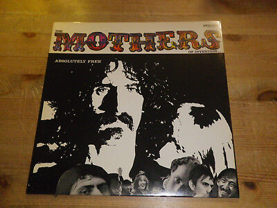 """ZAPPA & MOTHERS: Absolutely Free (OLD MASTERS BOX 1), BPR 7777-2-A/-B, 12""""/ LP"""
