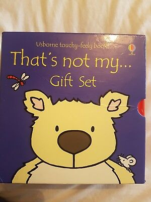 Childrens books - Thats Not My.....Gift Set