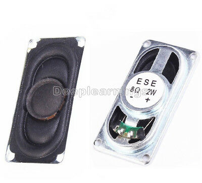 2W 8ohm 2040 Small Loudspeaker Stereo Audio Speaker For Laptop DIY Replacement