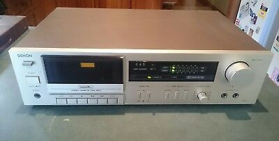 Very Nice Denon Cassette Tape Deck Dr-171 Working Well