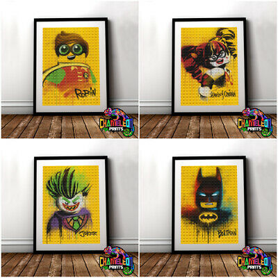 Lego Batman Movie Poster Print Joker Harley Quinn Penguin (VARIOUS DESIGNS)