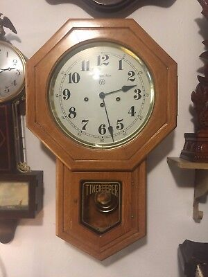 Harrington House Timekeeper Wall Clock w/ Franz Hermle movement