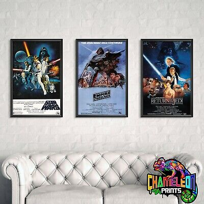 Star Wars Posters A4 A3 ** BUY 2 GET 1 FREE *** ADD 3 TO BASKET Various Designs