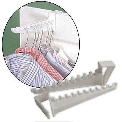 2 x Ironing Clothes Door Hooks Clothing Pegs Storage Holder Laundry Home Hangers