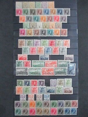 Lot [4] LUXEMBOURG - 1907-1926 - YT#89-181 - MINT HINGED (#140 is missing)