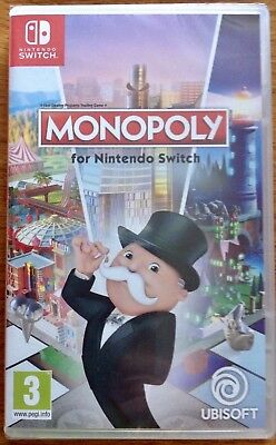 Monopoly Game For Nintendo Switch