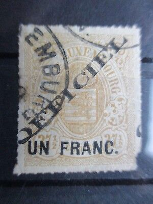 Lot [25] LUXEMBOURG - SERVICE STAMP - 1878-1879 - YT#23 - used