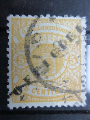 Lot [26] LUXEMBOURG - SERVICE STAMP - 1878-1879 - YT#27 - used - signed