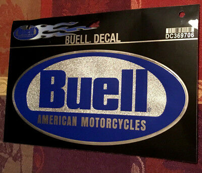 Buell American Motorcycle Oval Decal