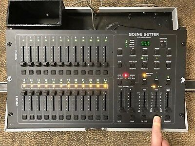 ADJ Scene Setter 24 Channel Dimmer Console With Case