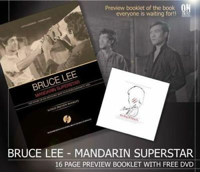 "Bruce Lee Mandarin Superstar Magazine  And ""King Of Kung Fu Dvd"