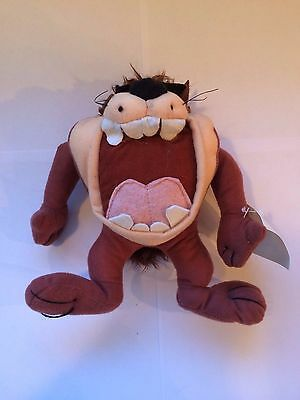 Tasmanian Devil Taz Stuffed Toy w/ Looney Tunes Tag