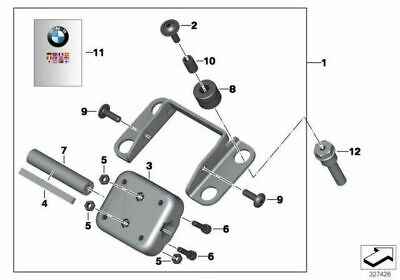 Genuine BMW Navigator GPS Mounting Clamp Mount Bracket F 800 GT 77528529421