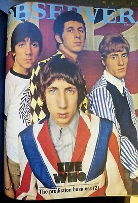 Observer Magazine s Jan. - Apr. 1966 Featuring The Who 17 Bound Copies