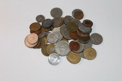 1/2 LB Foreign World Coins Mixed ONE HALF POUND LOT
