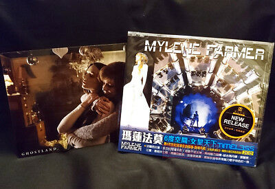 Mylene Farmer Timeless 2013 Taiwan 2-CD w/OBI + Mini Poster + Card NEW! Mylène