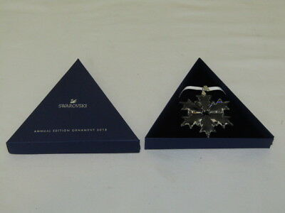 2018 Swarovski  Large Snowflake  Annual Edition Ornament 5301575