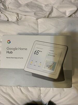 Google Home Hub with Google Assistant, Charcoal, New GA00515-US
