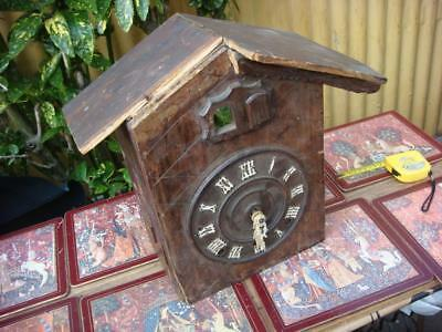 Vintage  Black Forest Cuckoo  Clock For Restoration or Spare / Repair