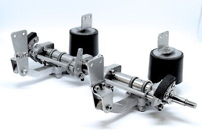 Complete air suspension v1 with brake system for 1/14 trailers   - scale-parts
