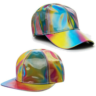 Marty McFly Rainbow Hat Baseball Cap Adjustable Back to the Future Cosplay Props