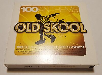 CD 100 Old Skool - Hip Hop Anthems - 5CDs - Various Artists - Gebraucht
