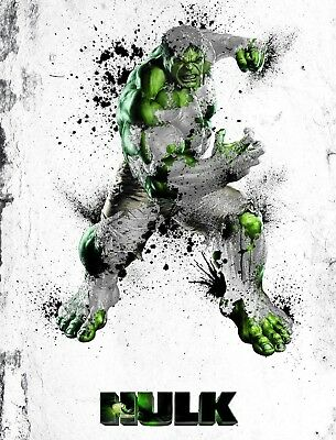 Marvel -  Abstract Hulk Poster Print - Matte - Wall Art - Buy 2 Get 1 Free