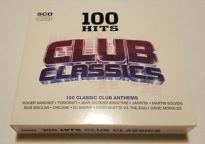 CD 100 Club Classics Anthems - 5CDs - Various Artists - Gebraucht