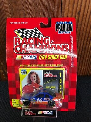 NASCAR Racing Champions 1996 Patty Moise #14 Purex Dial Stock Car 1:64 Scale