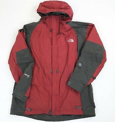 f8db32ccd4 ... new style the north face summit series parka gore tex xcr red gray  winter jacket mens