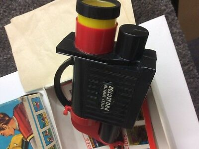Vintage collectors toy. Battery operated Projector and slides