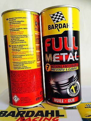 BARDAHL FULL METAL LONGLIFE-Ölbehandlung - 400 ml