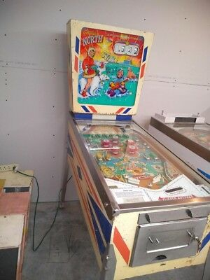 Gottlieb North Star Pinball machine