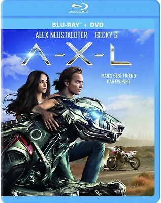 A-X-L (Blu-Ray+Dvd) New No Dust Cover