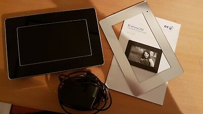 BT electronic 7inch LCD multi media digital photo frame