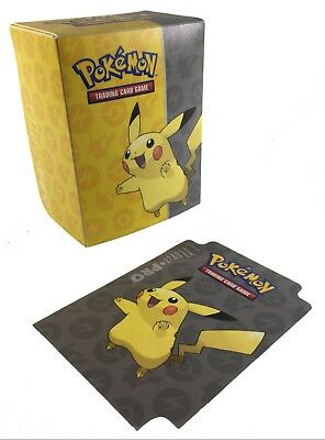 Ultra Pro Pokemon Deck Box Trading Card Storage! Pikachu, Eevee, Pokeball