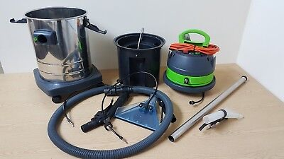WET VAC Victor GS 1/33 EXT professional vacuum and wet extractor, 11lt internal
