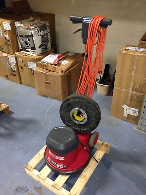 Rotary Floor Cleaner Cleanfix Power Disc High Speed