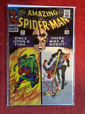 AMAZING SPIDER-MAN #37 Silver Age Marvel Comics Norman Osborne as Green Goblin