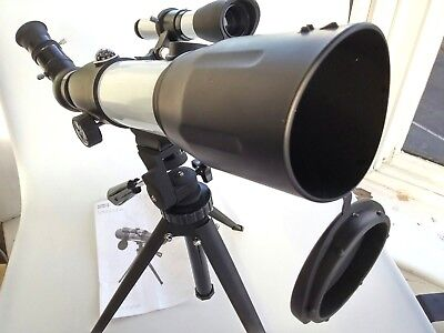 Portable 60 x 350 mm Marks & Spencer Telescope with Tripod, Eyepieces and Bag