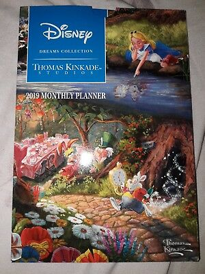Disney Dreams Collection 2019 Monthly Planner Kinkade Thomas from Disney Florida