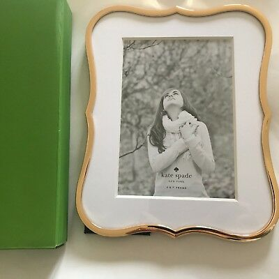 Kate Spade New York Crown Point Gold Plated Frame For 5x 7 Photo