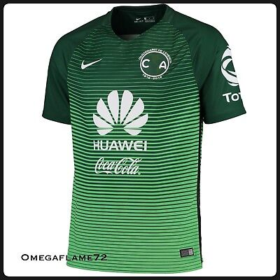 Nike 2016-17 Club America 3rd Stadium Home Football Soccer Shirt 776817-342