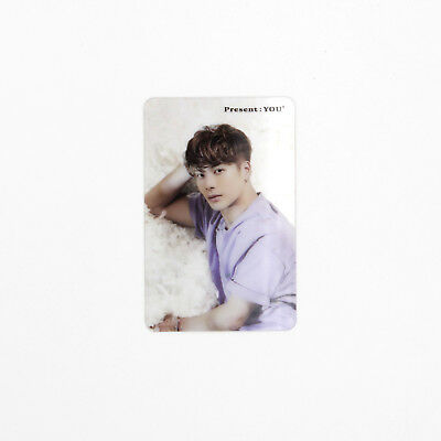[GOT7]3rd Album Present:You Official Clear Photocard/JACKSON/Preorder Gift