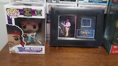 Funko Rocks Jimi Hendrix: Woodstock #54, and (S4) Minicell Cell.