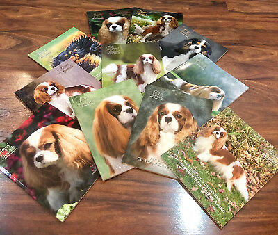 LOT of Royal Spaniels Magazines / Books ~ Cavalier King Charles ~ Collectible